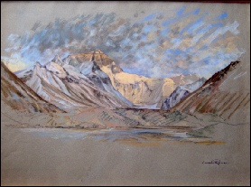 Mount Everest Paintings (West Ridge from the North).