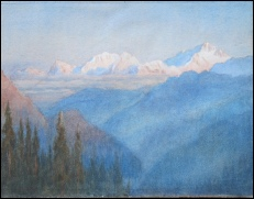 Mount Everest Paintings - SOLD