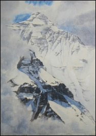 Mount Everest paintings