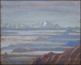 T.H. Somervell Mount Everest Paintings