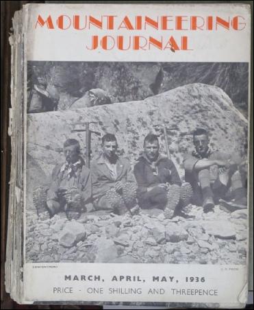 MOUNTAINEERING JOURNAL