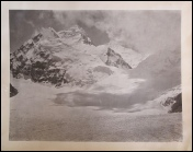 Mallory Mount Everest 1921 photograph owned by Eric Shipton