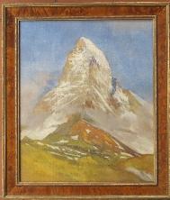 Gos painting Cervin Matterhorn