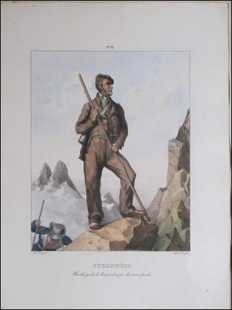 Pingret, E. PYRENEES. Charlet, guide de Ramond