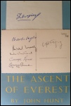 The Ascent of Everest SIGNED COPY