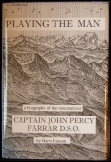 Playing the Man by Barry Imeson. New mountaineering books. John Percy Farrar