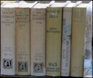MOUNT EVEREST 1921 BOOKS エベレストの本