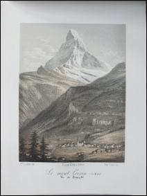 SOUVENIRS DE LA SUISSE. Dessinés d'après nature par J. Dubois.