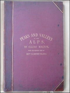 Peaks and Valleys of the Alps by Elijah Walton