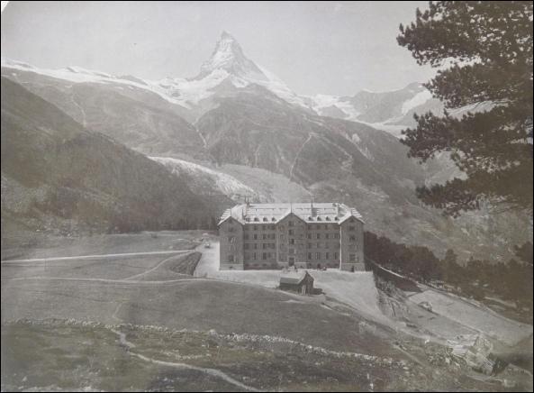 gornergrat and Matterhorn