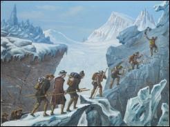 de Saussure Mont Blanc